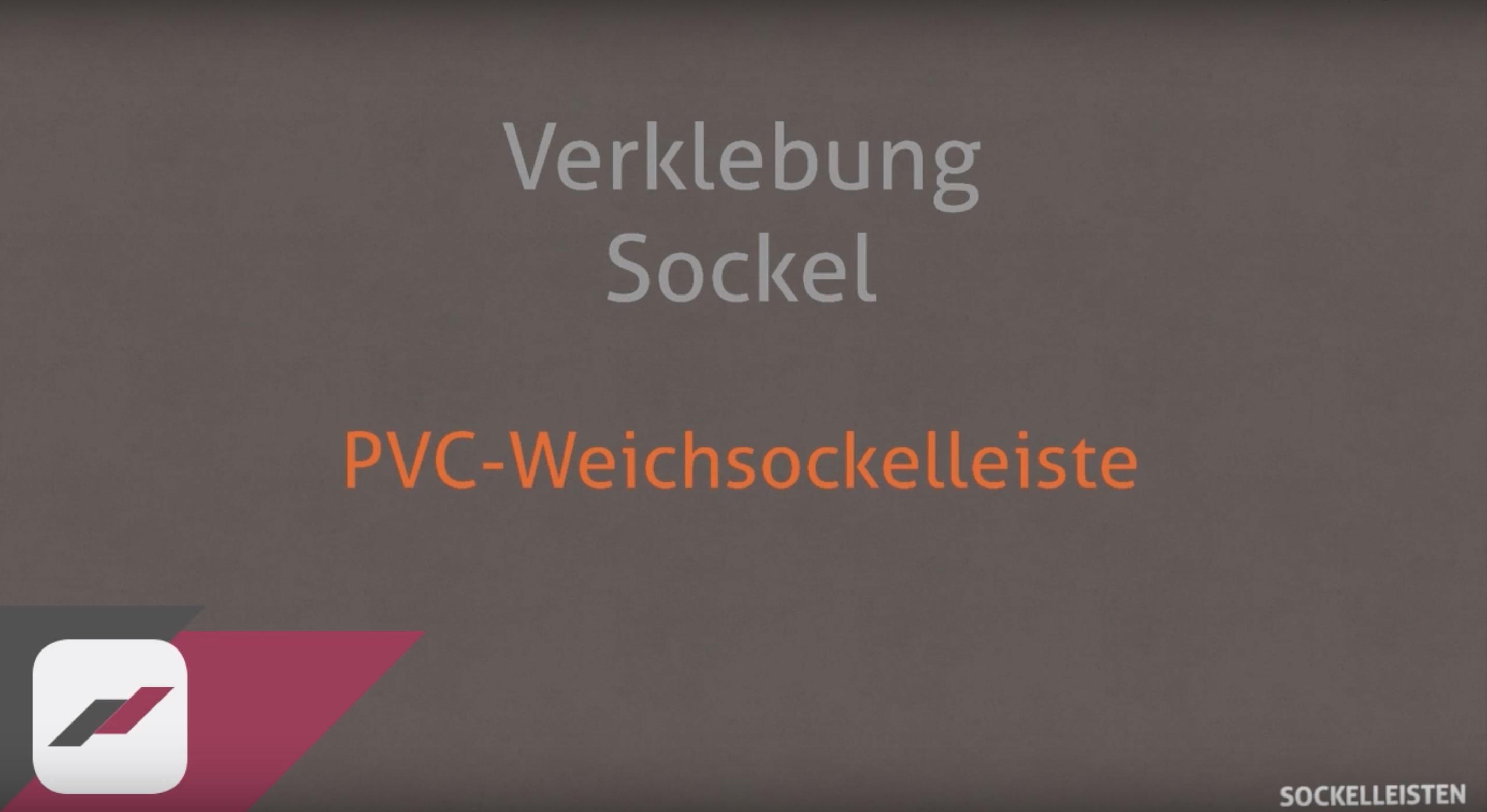 PVC Weichsockelleiste verkleben und anbringen | Bodenversand24