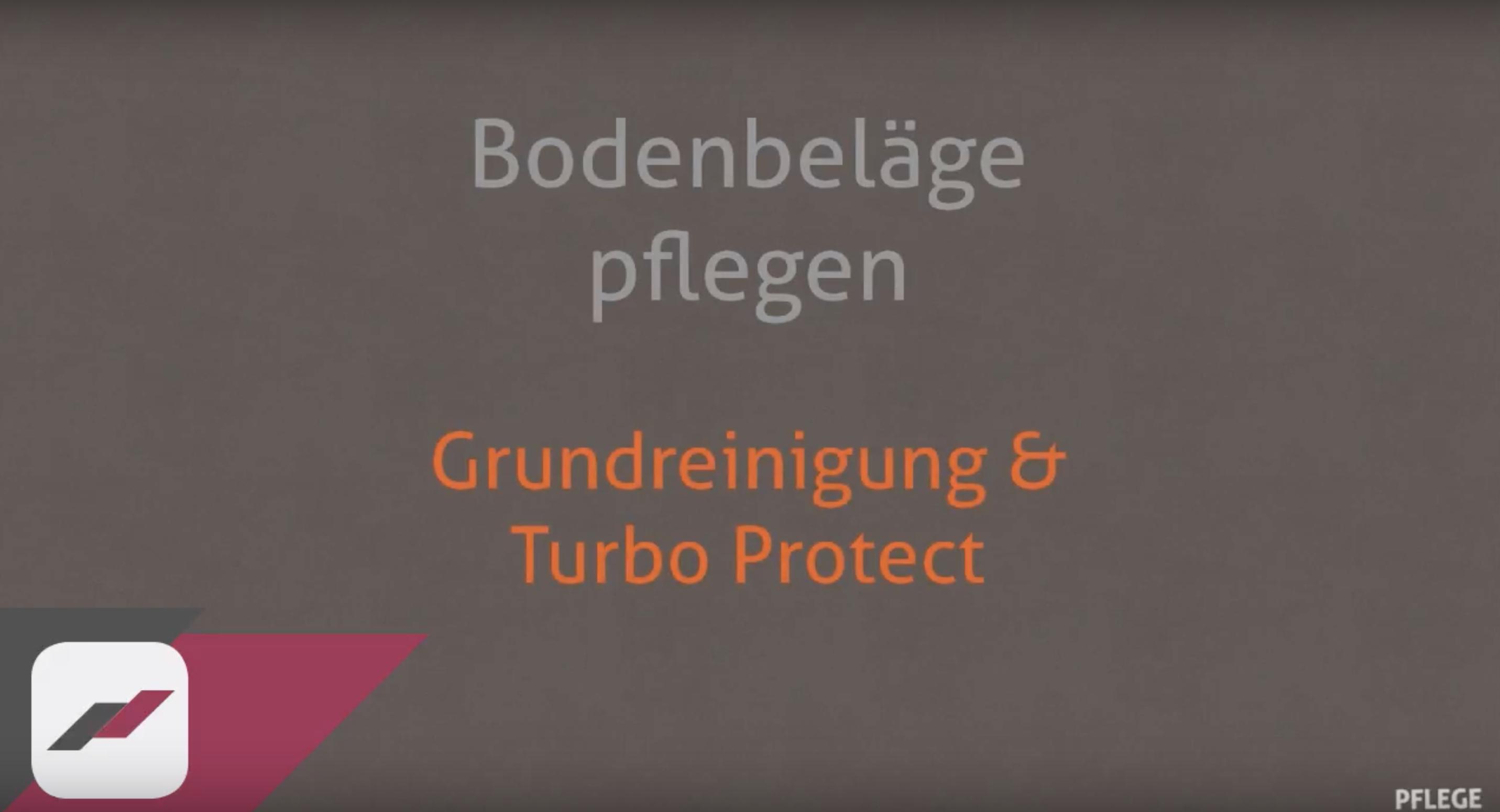 Grundreinigung und RZ Turbo Protect | Bodenversand24